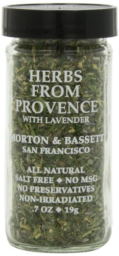 Morton & Basset Spices, Herbs from Provence with Lavender, 0.7 Ounce (Pack of 3)
