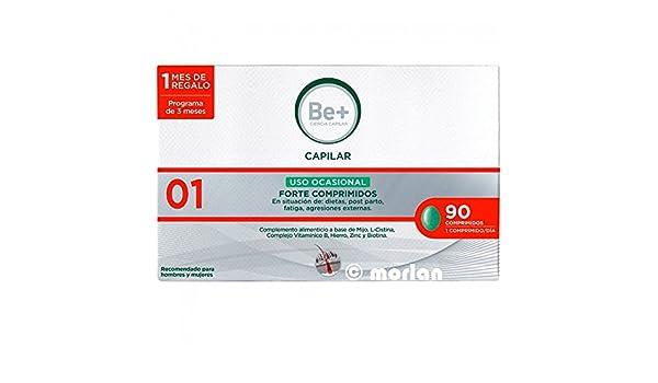 Be+ Capilar Anticaida Comprimidos Uso Ocasional Forte, 90Comprimidos: Amazon.es: Salud y cuidado personal