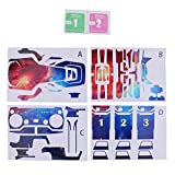 SunniMix PVC Waterproof Skin Stickers Decal Parts for DJI Mavic Air RC Drone Starry