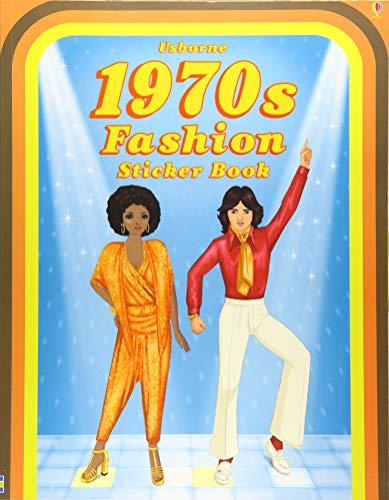 1970's Sticker - Historical Sticker Dolly Dressing 1970's Fashion