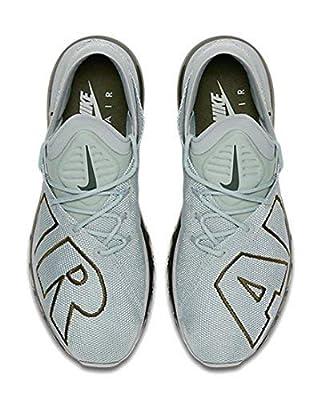 Nike Mens Air Max Flair Running Shoes (11.5 D(M) US, Light Pumice/Legion Green)