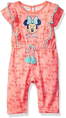 Disney Baby Girls' Minnie Mouse Romper