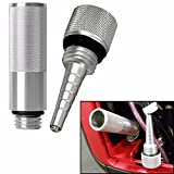 HonsCreat Magnetic Dipstick, NO Mess Oil Filter Tube Fits Honda EU3000i EU2000 EU1000i EU3000is generators (Silver)