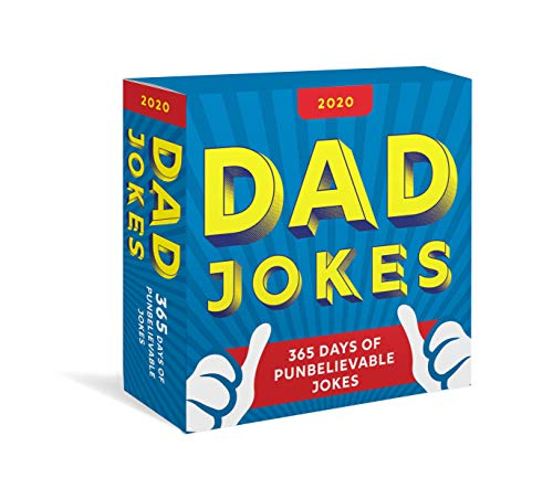 2020 Dad Jokes Boxed Calendar: 365 Days of Punbelievable Jokes