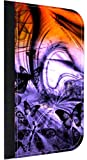 Purple Butterfly Fantasy Print Design Passport Holder Made in the U.S.A.