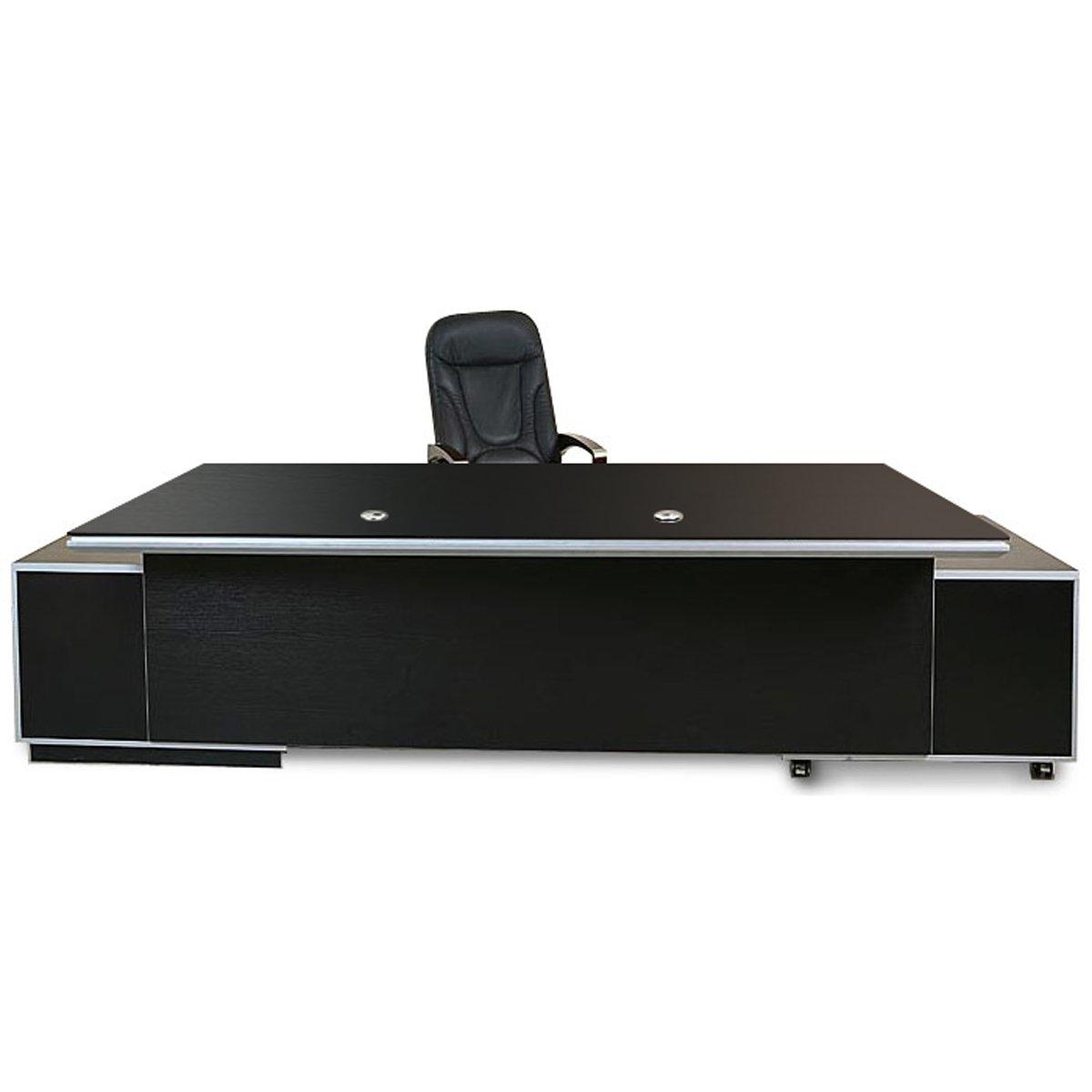 Büromöbel Bueroausstattung Büro Chef Schreibtisch Kehl 2.45 m XXL ...