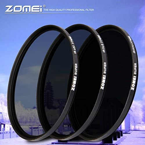 Zomei 67 mm Infrared 680nm X-Ray IR Filter Lens for DSLR Cameras
