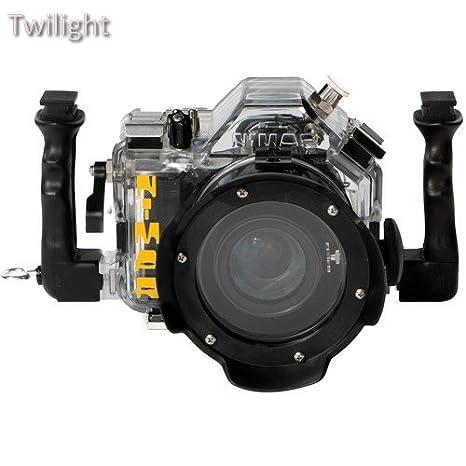 Nimar carcasa submarina para Nikon D50 DSLR cámara lente sin ...