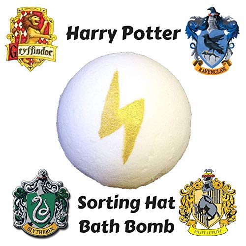 ONE Harry Potter Sorting Hat Bath Bomb/Hogwarts Stocking Stuffer Christmas Gift For Teen,Nerdy Christmas Gift, Harry Potter Bath Gift For Her