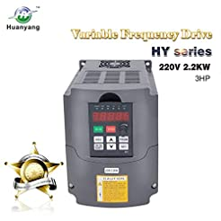 VFD 220V 2.2KW 3hp Variable Frequency Dr...