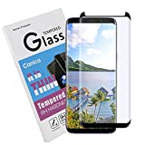 easiest ca - Galaxy S8 Plus Screen Protector,Galaxy S8 Plus Tempered Glass Screen Protector,Canica Samsung S8 Plus Tempered Glass film Full Coverage HD Clear for Galaxy S8 Plus (#005)