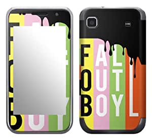 Zing Revolution MS-FOB20275 Fall Out Boy - Logo Cell Phone Cover Skin for Samsung Galaxy S 4G (SGH-T959V)