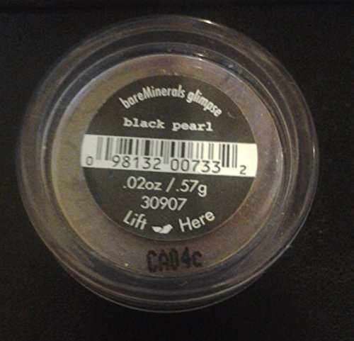 Bare Minerals Bare Escentuals Eyecolor Eyeshadow Glimpse Black Pearl 0.57g/0.02oz ...