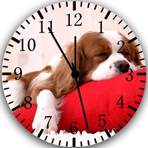 - Borderless Cavalier King Charles Spaniel Frameless Wall Clock W227 Nice for Decor Or Gifts