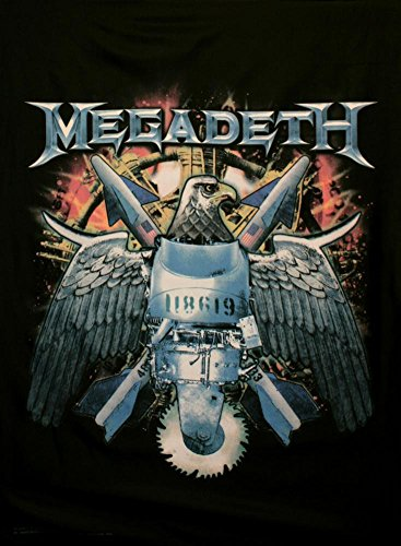 Megadeth Fabric Poster 30 x 40in
