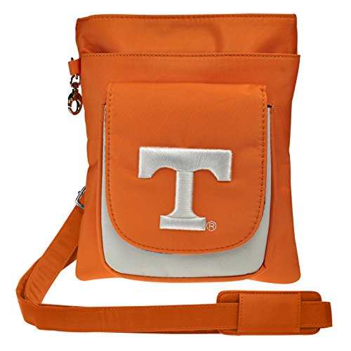 Womens Embroidered NCAA Logo Bag Traveler Charm14 Crossbody 6CqCz