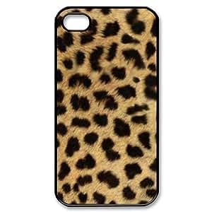 SUUER Big Cat Custom Hard CASE for iPhone 5 5s case -Black CASE