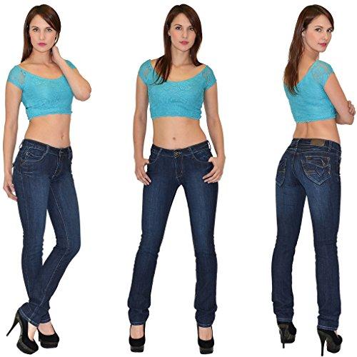 slim basse femmes Jean by femme droit J57 pour femmes tex Jean Z59 pantalon taille Jeans xfqwtR