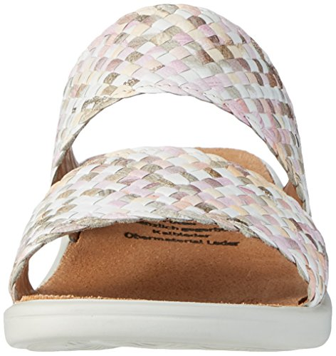 Donna Ciabatte Multicolore Rose e Ganter Sonnica Multi qEawt