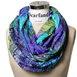 Scarfand's Mixed Color Infinity Scarf (BLTQ)