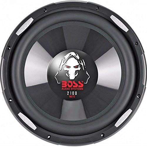- BOSS AUDIO P106DVC Phantom 10 inch Dual Voice Coil (4 Ohm) 2100-watt Subwoofer by BOSS Audio