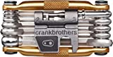 Image of Crank Brothers Multi Bicycle Tool (17-Function, Gold)
