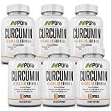 Premium Organic Curcumin. Highest Absorption Activated with Bioperine. 42,000mg Equivalent of Pain Relief, Anti-Inflammation & Blood Pressure Support. Ultra-Pure 95% Standardized Curcuminoids (6)