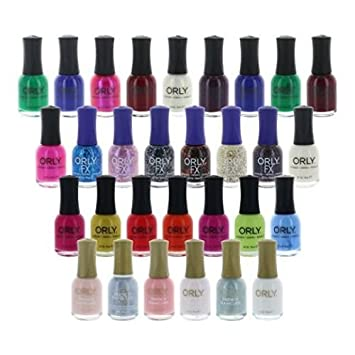 Wholesale Lot Of 100 Assorted Nail Polish Orly