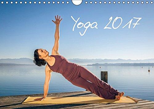 Yoga Wandkalender 2017 DIN A4 quer : Meditatives Yoga am See ...