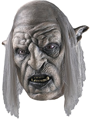 Rubie's Costume Men's Lord Of The Rings Orc Overseer Mask, Multi, One Size (Orc Latex Mask)