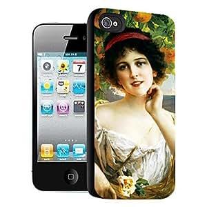 ZXM-Patrón elegante del efecto 3d mujer por iPhone5