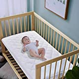 Waterproof Fitted Crib Mattress Pad and Toddler