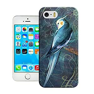 LarryToliver Retro Customizable Bird art painting For iphone 5/5s Case Cover Dual Cases