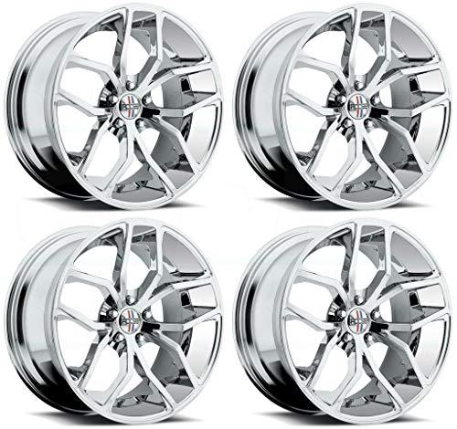 Foose F148 Outcast 20x8.5 5x120 +35mm Chrome Wheel Rim