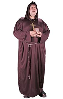 Monk Plus Size Adult Costume - Plus Size