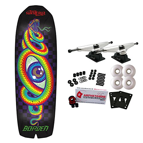 Santa Cruz Skateboard Complete Borden Hypno Preissue Old School Shape