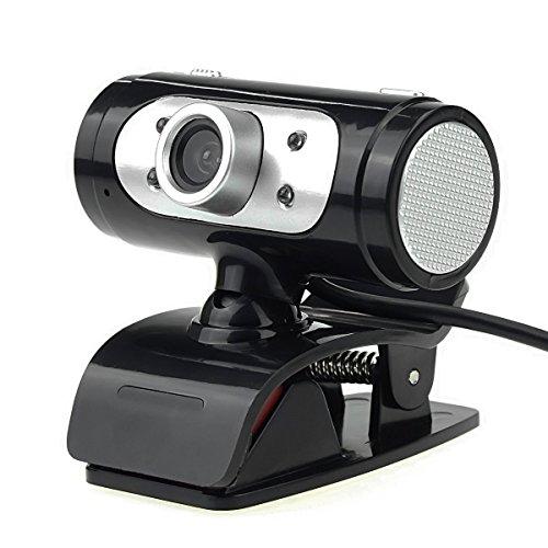 Bao Sheng@ USB HD Webcam, 720P Digital Video Web Camera w/Built-in Sound Digital Microphone & LED Lights (USB-CMA-A7260) by Bao Sheng