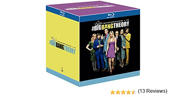 The Big Bang Theory Temporada 1-10 Blu-Ray [Blu-ray]: Amazon.es: Johnny Galecki, Jim Parsons, Kaley Cuoco, Simon Helberg, Kunal Nayyar, Melissa Rauch, Chuck Lorre (Creator), Bill Prady (Creator), Mark Cendrowski, Anthony Rich, Peter