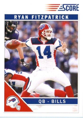 2011 Panini Score GLOSSY Football Card #37 Ryan Fitzpatrick - Bills In a Protective Screwdown Case!