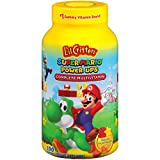 L'il Critters Super Mario Brothers Complete Multivitamin Gummies, 190 Count (Packaging May Vary)