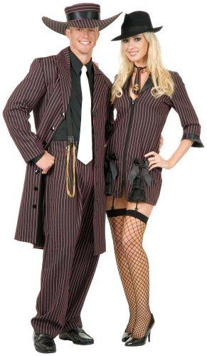 Zoot Suit Adult Costume Pink - - 1940s Suit Zoot