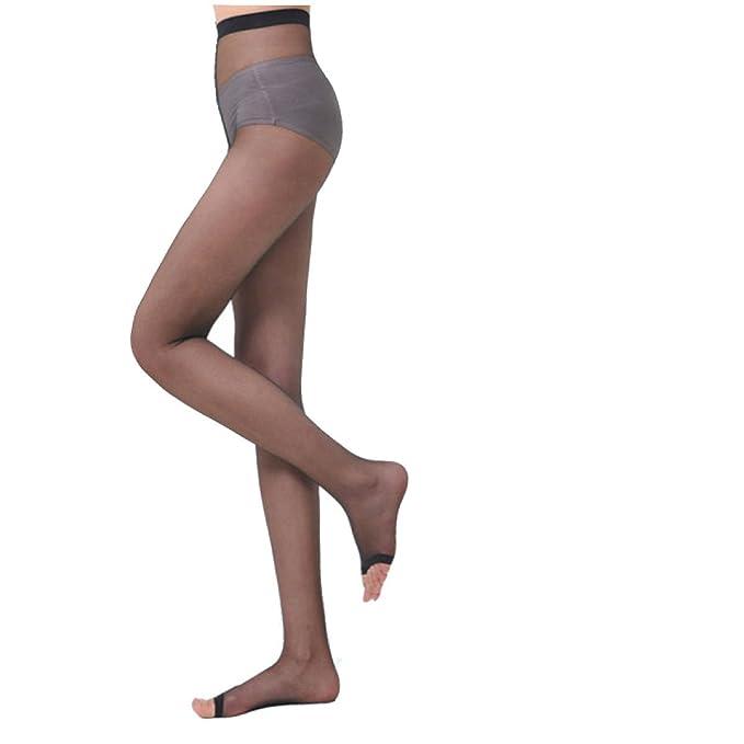 Sniffs Medias Pez Boca Calcetines Abierto Toe Carne Piernas Pantyhose Mujer Modelos Ultra-finos Anti-gancho Wire Plus Archivos Antiestatico Luz Cómoda: ...