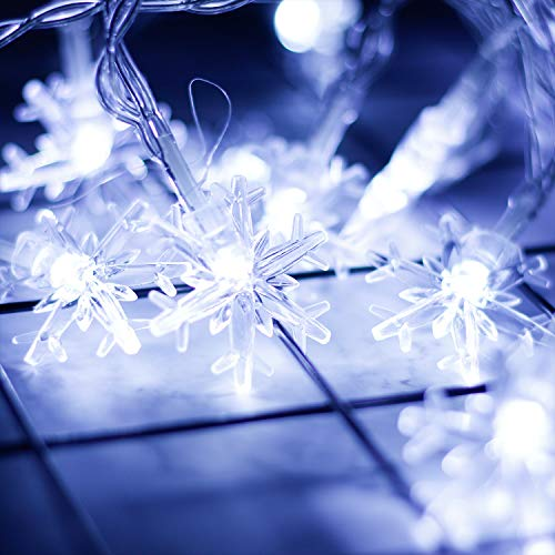 Large Outdoor Snowflake Christmas Lights in US - 4