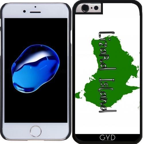 Coque pour Iphone 6 Plus (5,5'') - île Lézard by loki1982