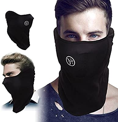 Amazon.com: kingbig resistente al viento Half Face Mask, de ...