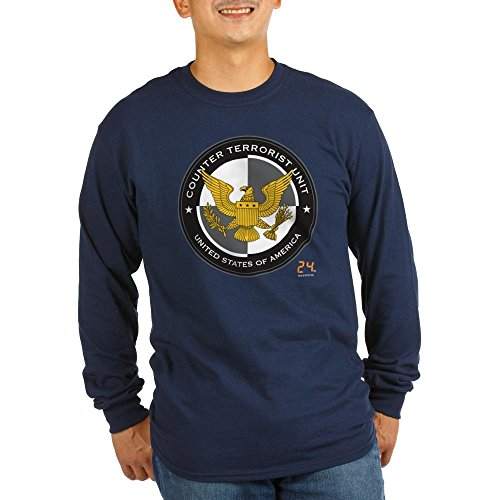 CafePress 24 CTU Logo Unisex Cotton Long Sleeve T-Shirt Navy ()