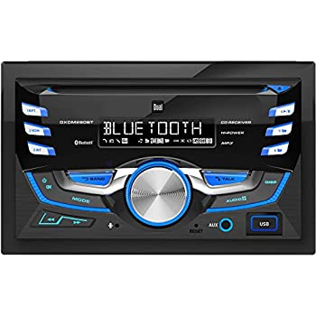 Amazon com: Dual DXDM280BT Double-DIN AM/FM Tuner with CD