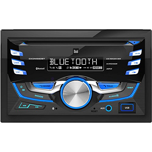 Dual DXDM280BT Double-DIN AM/FM Tuner with CD Player ()