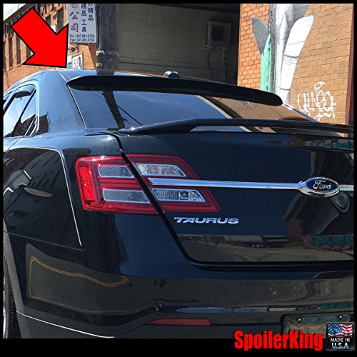 Ford Taurus 2010-on Rear Window Roof Spoiler XL (380R) - Ford Taurus Spoiler