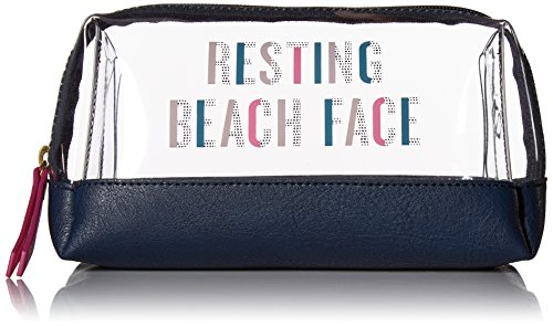 By Bags Bailey (Fossil Bailey Cosmetic Bag, Navy Multi)